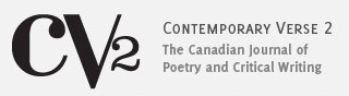 Contemporary Verse 2: The Canadian Journal of Poetry and Critical Writing