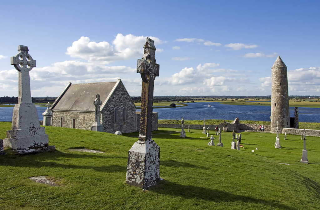 The Monastic site of Clonmacnoise