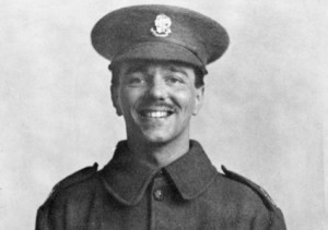 Wilfred Owen. British war poet