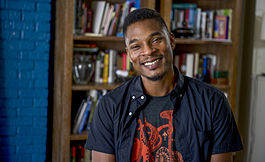 American Poet Terrance Hayes. Photo from the MacArthur Foundation website.
