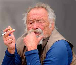 American writer, Jim Harrison (1936-2016)