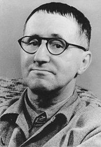 German poet Bertolt Brecht (1989-1956)
