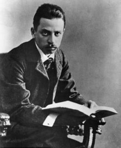 German poet, Rainer Maria Rilke